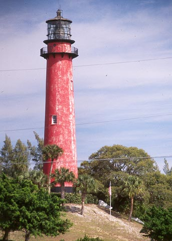 Cyberlights Lighthouses - Jupiter Inlet Lighthouse