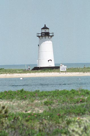 Cyberlights Lighthouses - Edgartown Harbor Lighthouse