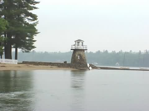 Newfound lake lighthouse cyberlights lighthouses