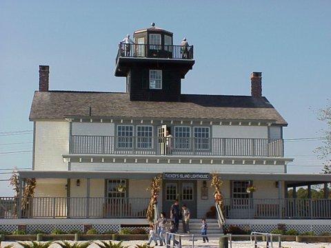Cyberlights Lighthouses - Tucker's Island Lighthouse (replica)