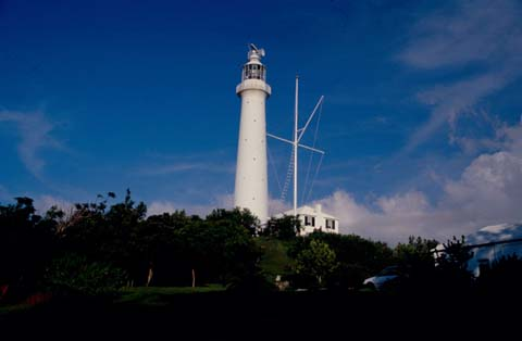 Cyberlights Lighthouses - Gibb's Hill Lighthouse
