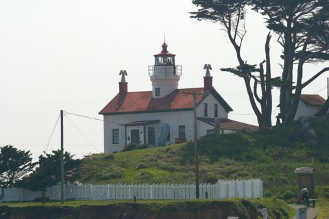 Cyberlights Lighthouses - Battery Point Lighthouse