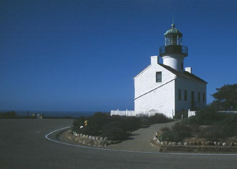 Cyberlights Lighthouses - Old Point Loma Lighthouse