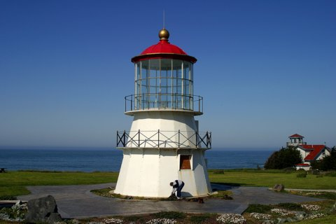 Cyberlights Lighthouses - Cape Mendocindo Lighthouse