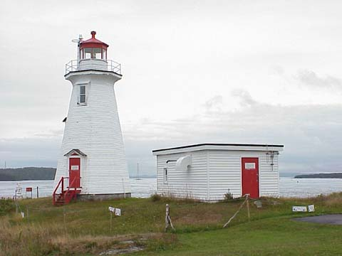 Cyberlights Lighthouses - Green's Point Lighthouse