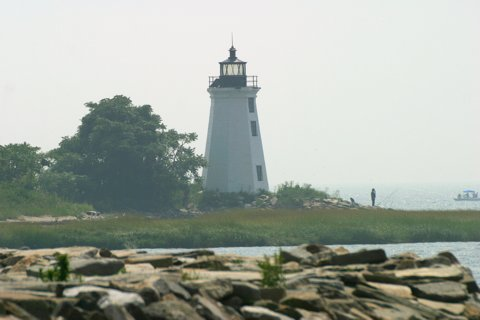 Cyberlights Lighthouses - Fayerweather Island Lighthouse