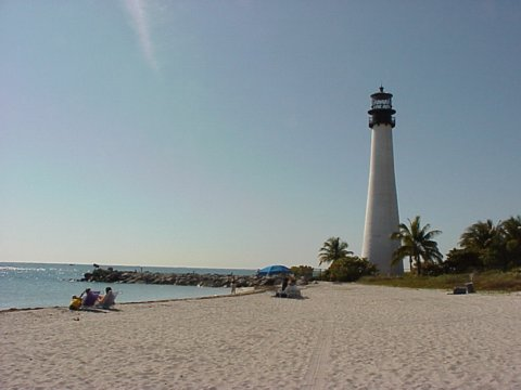 Cyberlights Lighthouses - Cape Florida Lighthouse