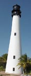 Cyberlights Lighthouses - Cape Florida Light