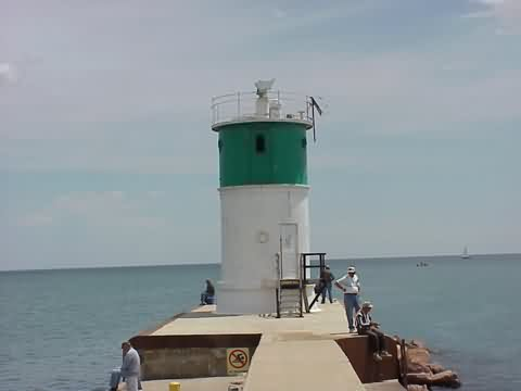 Cyberlights Lighthouses - Waukegan Harbor Lighthouse