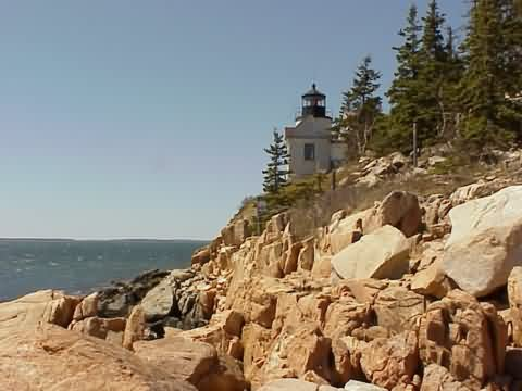 Cyberlights Lighthouses - Bass Harbor Lighthouse