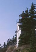 Cyberlights Lighthouses - Bass Harbor Light