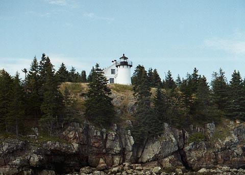 Cyberlights Lighthouses - Bear Island Lighthouse