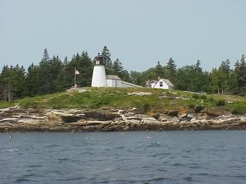 Cyberlights Lighthouses - Burnt Island Lighthouse