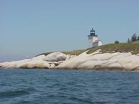 Cyberlights Lighthouses - Deer Island Thorofare Lighthouse