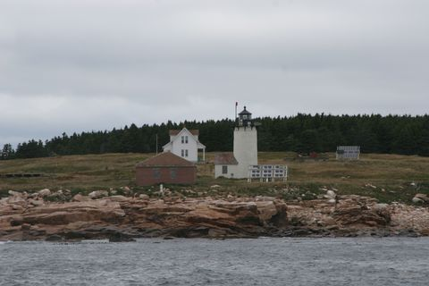 Cyberlights Lighthouses - Great Duck Island Lighthouse