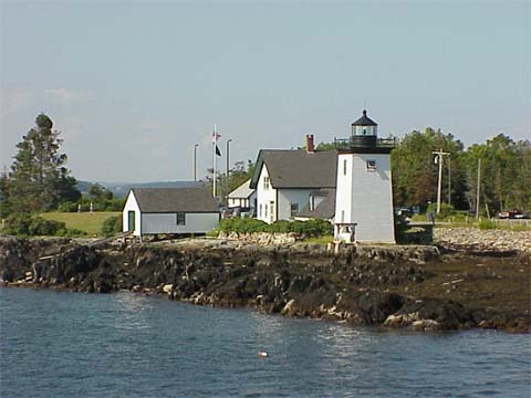 Cyberlights Lighthouses - Grindle Point Lighthouse