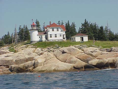 Cyberlights Lighthouses - Heron Neck Lighthouse