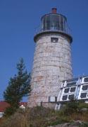 Cyberlights Lighthouses - Monhegan Island Light