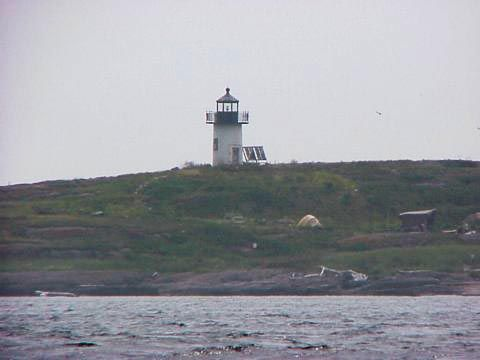 Cyberlights Lighthouses - Pond Island Lighthouse