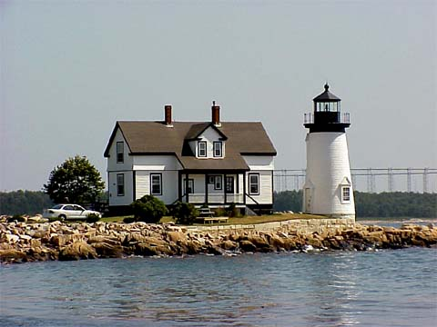 Cyberlights Lighthouses - Prospect Harbor Lighthouse