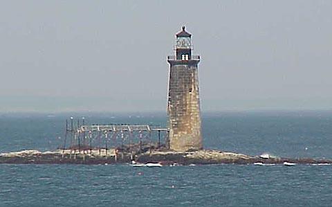 Cyberlights Lighthouses - Ram Island Ledge Lighthouse