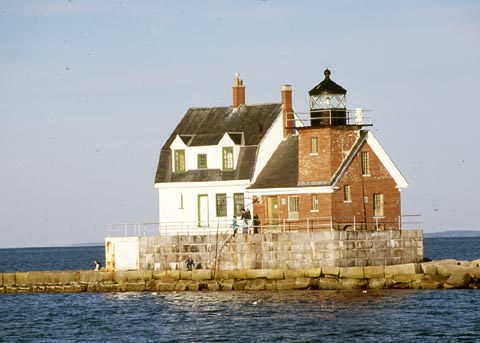 Cyberlights Lighthouses - Rockland Breakwater Lighthouse
