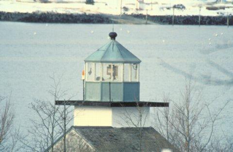 Rockland Harbor Southwest Lighthouse Cyberlights Lighthouses