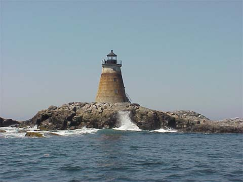 Cyberlights Lighthouses - Saddleback Ledge Lighthouse