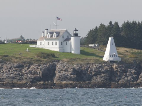 Cyberlights Lighthouses - Tenants Harbor Lighthouse