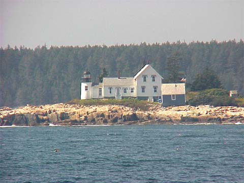Cyberlights Lighthouses - Winter Harbor Lighthouse