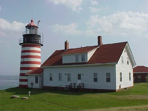 Cyberlights Lighthouses - West Quoddy Lighthouse