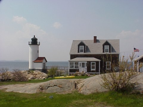 Cyberlights Lighthouses - Annisquam Lighthouse