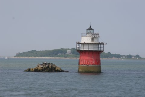 Cyberlights Lighthouses - Duxbury Pier Lighthouse