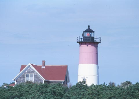 Cyberlights Lighthouses - Nauset Lighthouse