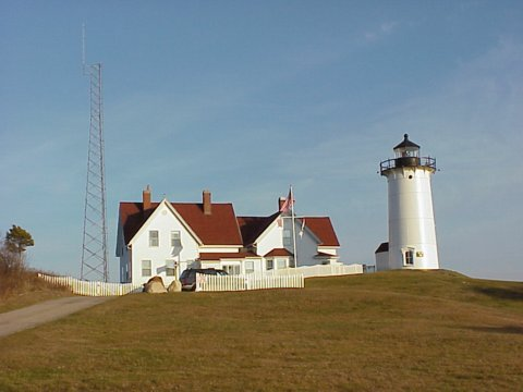 Cyberlights Lighthouses - Nobska Point Lighthouse