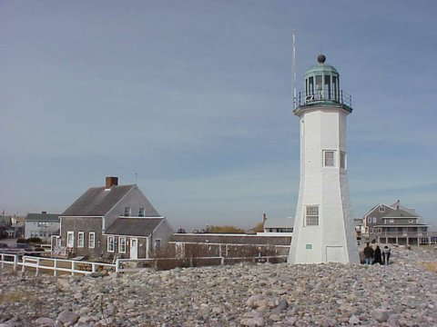 Cyberlights Lighthouses - Scituate Lighthouse