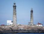 Cyberlights Lighthouses - Thacher Island Lights