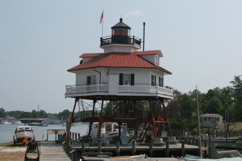 Cyberlights Lighthouses - Drum Point Lighthouse