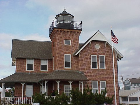 Cyberlights Lighthouses - Sea Girt Lighthouse