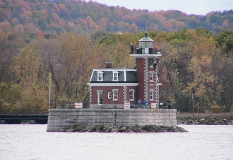 Cyberlights Lighthouses - Hudson-Athens Lighthouse