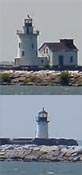 Cyberlights Lighthouses - Cleveland East/West Lights