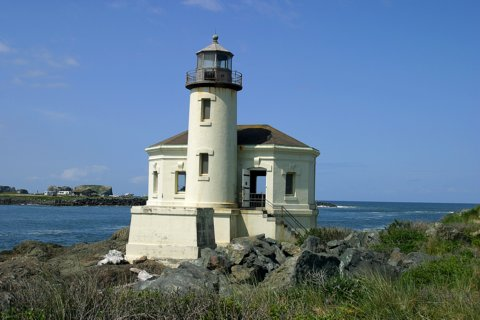 Cyberlights Lighthouses - Coquille River Lighthouse
