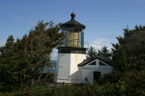 Cyberlights Lighthouses - Cape Meares Lighthouse