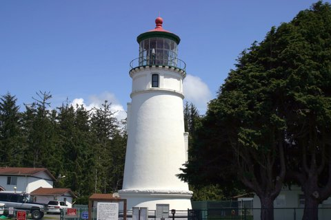 Cyberlights Lighthouses - Umpqua River Lighthouse