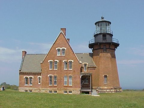 Cyberlights Lighthouses - Block Island Lighthouse, Southeast