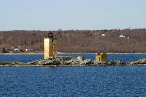 Cyberlights Lighthouses - Dutch Island Lighthouse