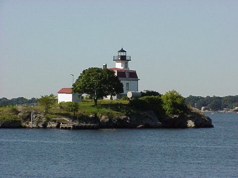 Cyberlights Lighthouses - Pomham Rocks Lighthouse