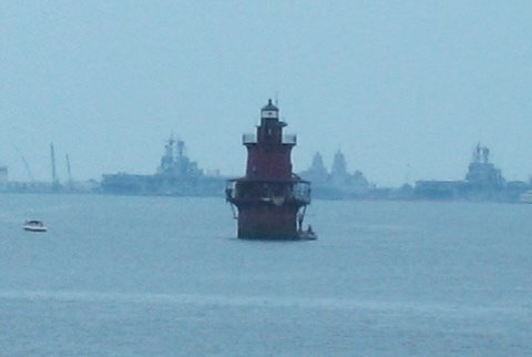 Cyberlights Lighthouses - Newport News Middle Ground Lighthouse