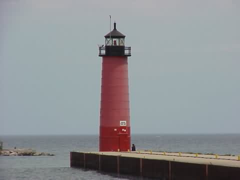 Cyberlights Lighthouses - Kenosha Pierhead Lighthouse